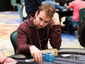 【蜗牛扑克】野人承认代打 Pascal Lefrancois获得SCOOP主赛冠军