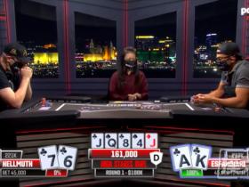"""【蜗牛扑克】Phil Hellmuth的新单挑节目中击败了""""魔术师"""""""