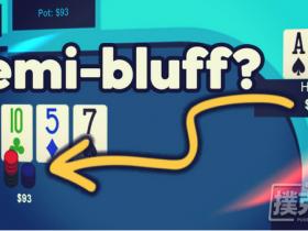 【蜗牛扑克】德州扑克牌局分析:游戏带高牌的卡顺听牌