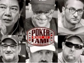 【蜗牛扑克】扑克名人堂在2020年只有一名入选者