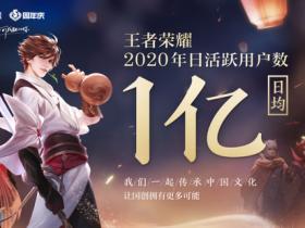 【蜗牛电竞】王者荣耀日活跃用户日均1亿,中国自研创造全球历史
