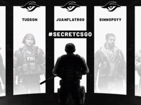 【蜗牛电竞】成绩持续走低 Team Secret正式解散CSGO战队