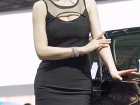 【蜗牛扑克】韩国车模은빈EunBin(恩彬)车展性感饭拍20200308