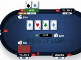 【蜗牛扑克】德州扑克翻牌圈击中葫芦或四条-3