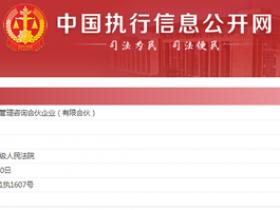 【蜗牛扑克】沪江网股东被列为被执行人 执行标的约1.44亿元