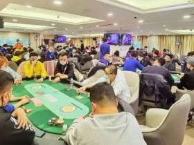 【蜗牛扑克】第二季大连杯|主赛事预C组157人次参赛 杨明鑫成为全场CL!