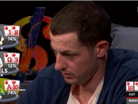 【蜗牛扑克】Tom Dwan成High Stakes Poker第八季的大赢家