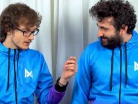 【蜗牛电竞】GH与Miracle-采访:除了冰女什么饰品都有