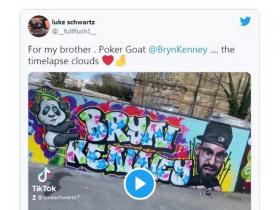 【蜗牛扑克】Luke Schwartz用涂鸦墙致敬Bryn Kenney苏格兰奇才David Vamplew即将复出