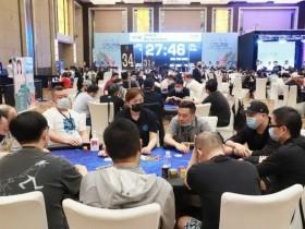 【蜗牛扑克】2021CPG济南站 | 泡沫诞生,张彬领衔33人进入下一轮
