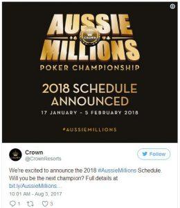 2018澳洲百万赛事之AU0K挑战赛将取消