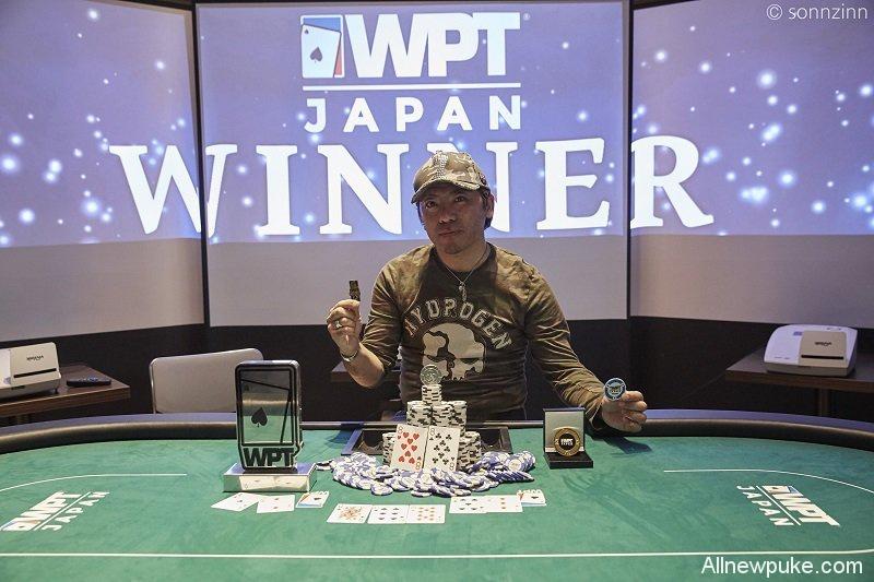 蜗牛扑克:Eiji Kimura取得首届WPT日本站主赛事冠军