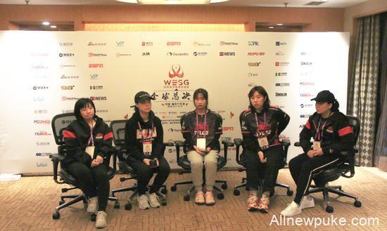 【蜗牛电竞】专访TyLoo女队小姐姐:因为WESG才能一块打比赛