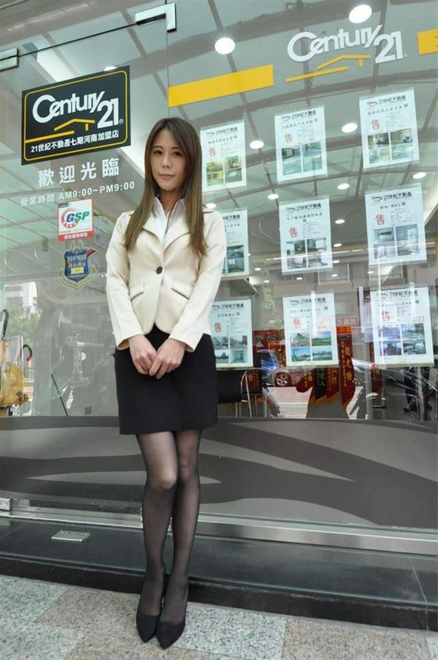 【蜗牛扑克】日本网友盛赞台湾房仲OL令他超兴奋 AV什么的根本比不上