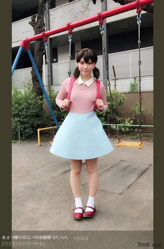 【蜗牛扑克】哆啦A梦真人版静香 あまつ様cosplay静香诠释可爱