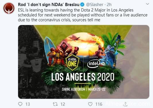 【蜗牛电竞】疫情肆意,洛杉矶Major能否如期举办仍未确定