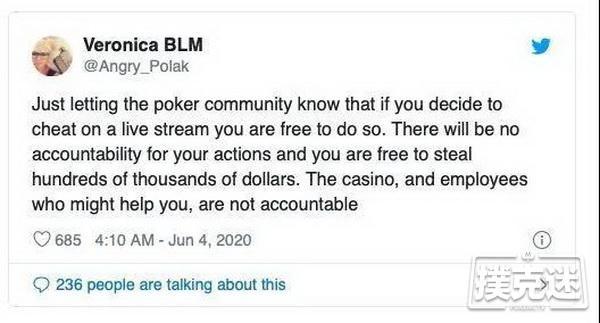 【蜗牛扑克】法官驳回针对Postle的所有指控!