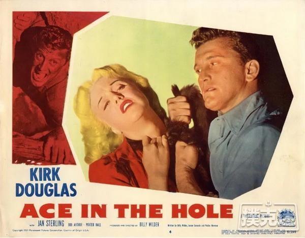 【蜗牛扑克】电影推荐《倒扣的王牌》 Ace in the Hole