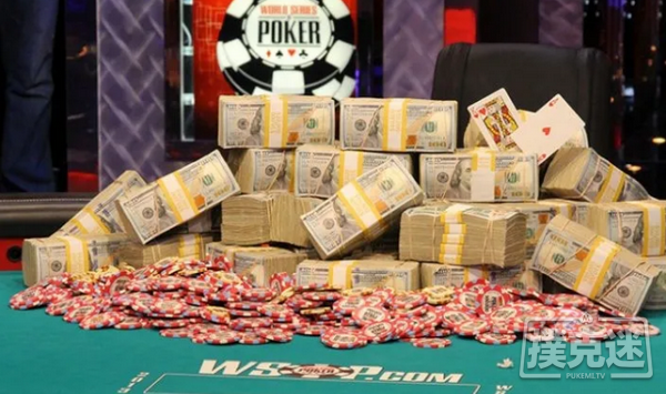 【蜗牛扑克】WSOP主赛事打破了2500万的保证金,冠军将独享390万美元