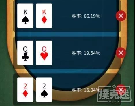 【蜗牛扑克】德州扑克中三人翻前全压,你对各自的胜率心里有数吗