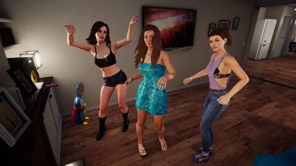 【蜗牛扑克】成人YouTuber加入《家庭派对》!可以和女神嘿嘿嘿了!