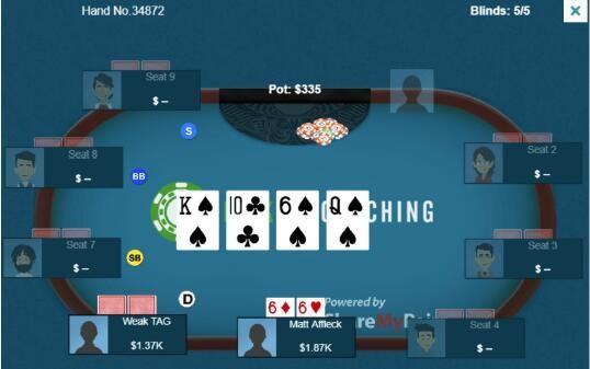 【蜗牛扑克】德州扑克惊悚牌面的暗三条