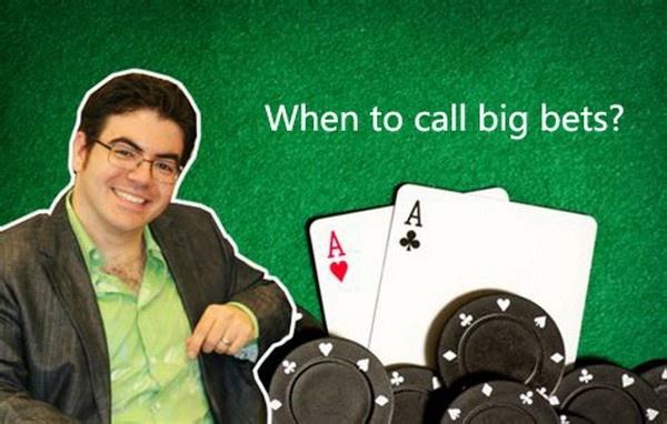 【蜗牛扑克】德州扑克何时跟注对手的大注?