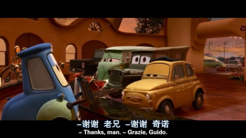【蜗牛扑克】[赛车总动员2][BD-MKV/2.31GB][英语中字][720P][美国皮克斯喜剧动画  第69届金球奖]