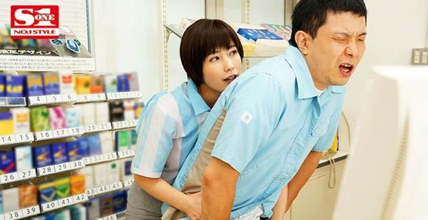 【蜗牛扑克】便利商店打工人妻姐姐「奥田咲」上班一直偷偷诱惑我 没办法只好用肉棒体叫她闭嘴了