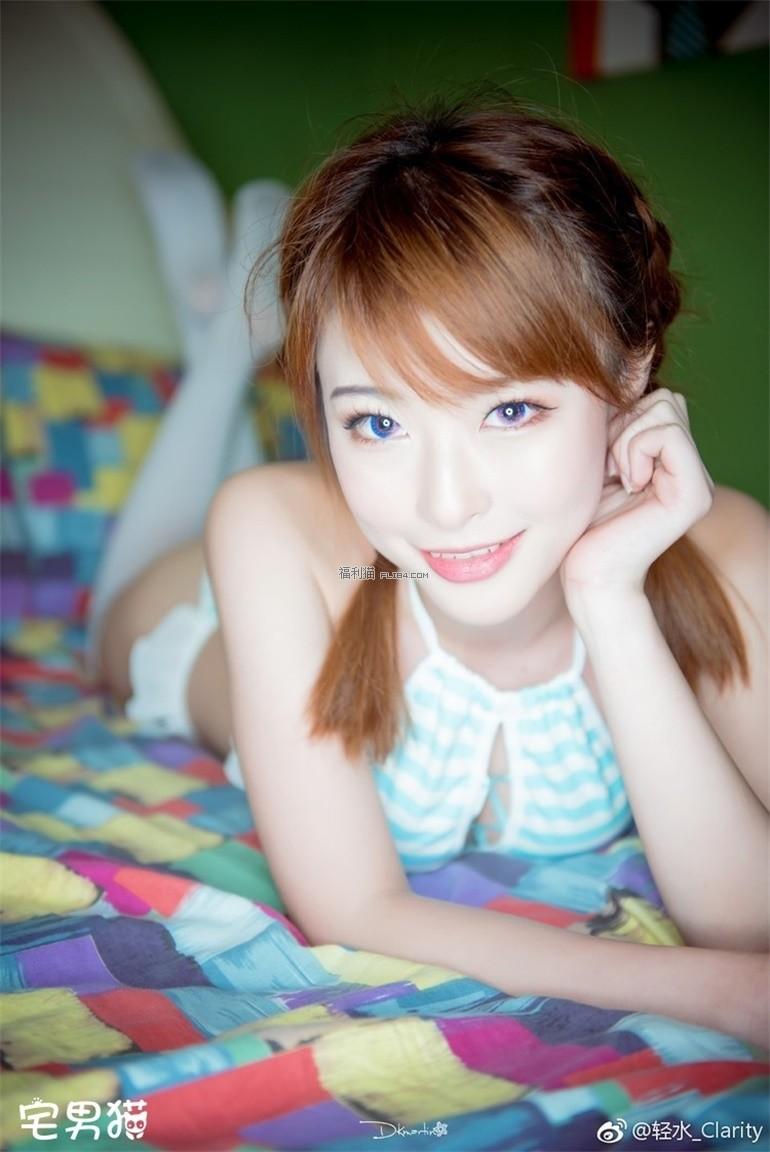 【蜗牛扑克】身材一级棒的妹子@清水由乃,又萌又好看!