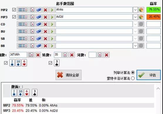 【蜗牛扑克】德州扑克基础数学系列:补牌