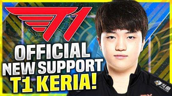 【蜗牛电竞】英雄联盟 Keria:Faker这样的选手令人敬佩,希望能打破他的纪录