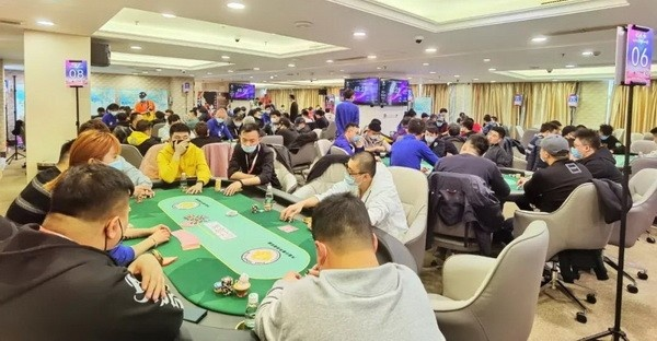 【蜗牛扑克】第二季大连杯 主赛事预C组157人次参赛 杨明鑫成为全场CL!