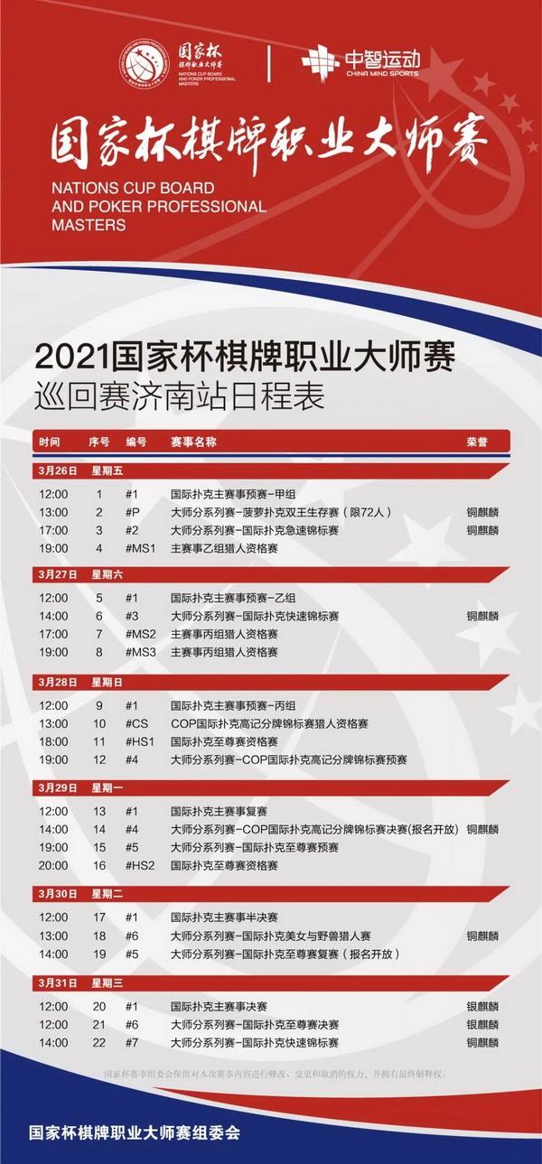 【蜗牛扑克】大师分系列赛-COP国际扑克高记分牌锦标赛介绍