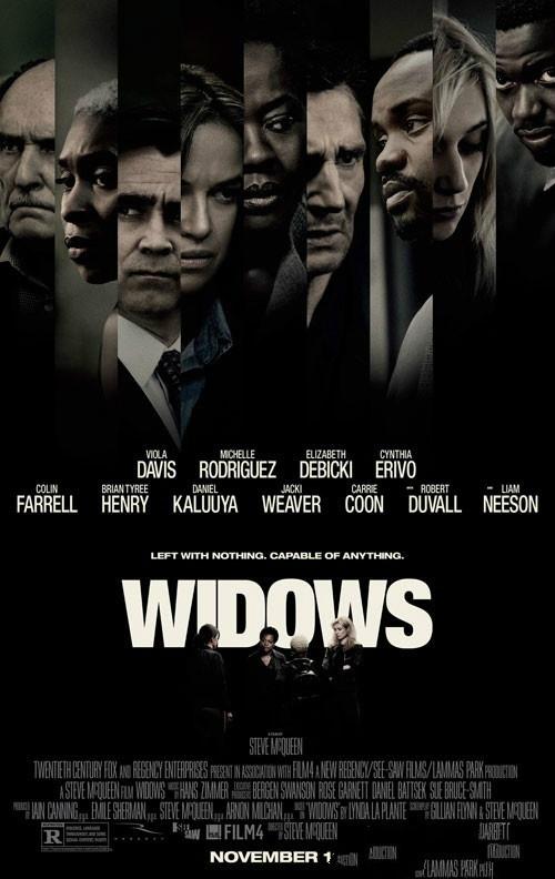 【蜗牛扑克】《寡妇联盟 Widows》:身份是我们的弱势也是优势