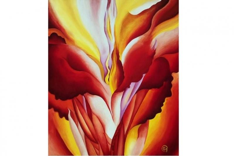 【蜗牛扑克】当女性生殖器被画在花里 你还能直视它吗