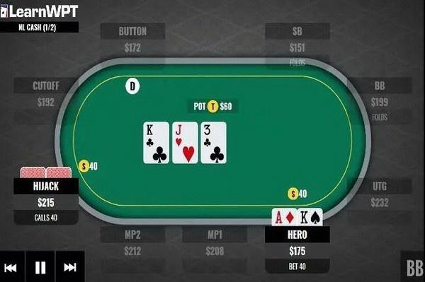 【蜗牛扑克】AK,翻牌圈击中顶对,转牌圈如何行动?