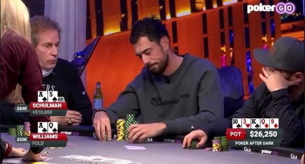 【蜗牛扑克】德州扑克手牌分析 | Nick Schulman的超值下注Bluff