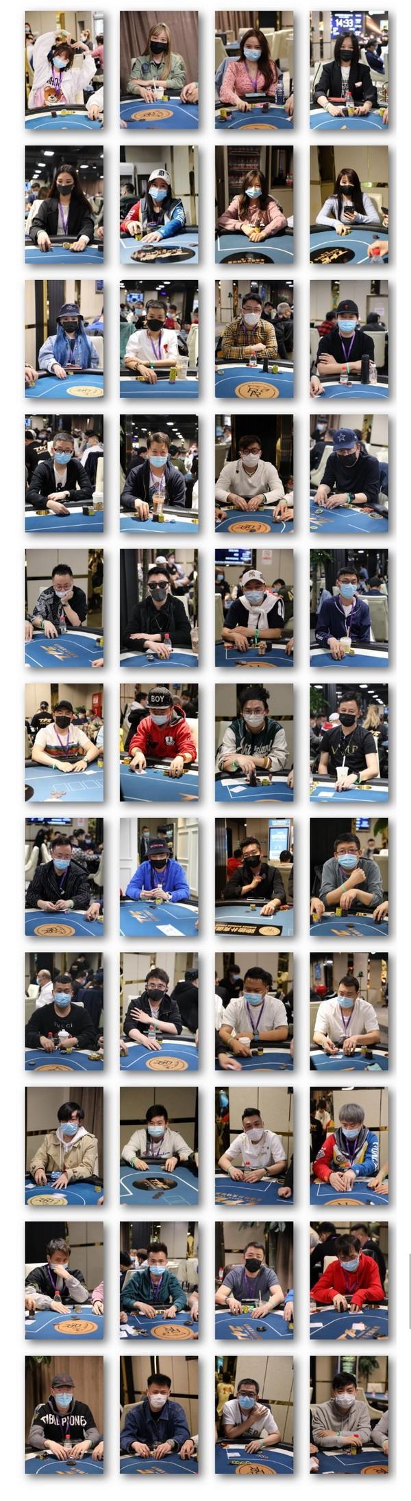 【蜗牛扑克】2021 TPC老虎杯 | 主赛B组359人参赛,任渝钢以43,9500记分量领先!