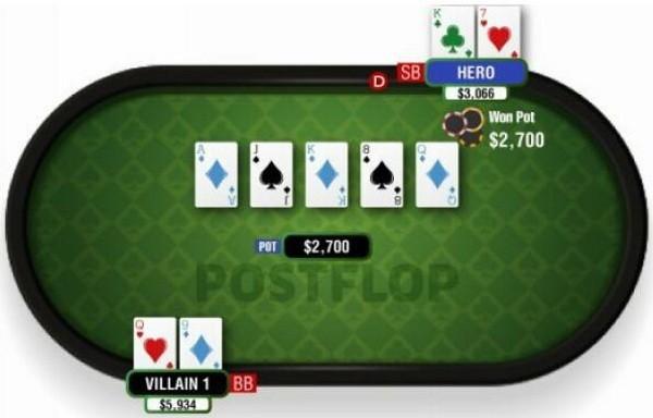 【蜗牛扑克】德州扑克你必须了解的翻后优势