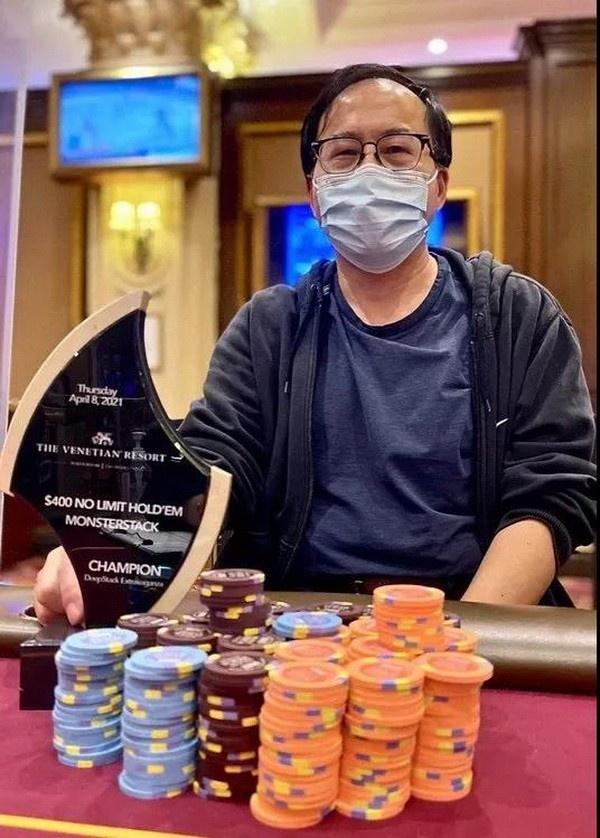 【蜗牛扑克】华人Qing Liu成为2021年至今现场比赛巡回赛中最热门的选手