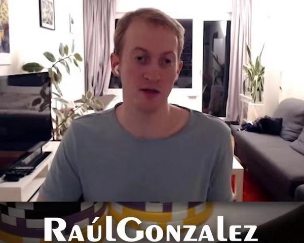 【蜗牛扑克】高手RaulGonzalez宣布暂时从扑克中退役