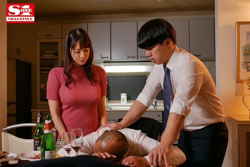"""【蜗牛扑克】上司不在家搞上他的超巨乳老婆""""安斋らら"""",连续三天猛送还玩乳技!"""