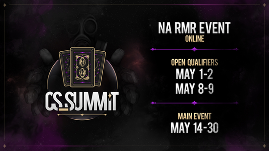 【蜗牛电竞】线上预选 cs_summit主办首届北美RMR赛事