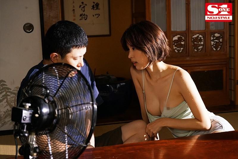 【蜗牛扑克】SSNI-987:乡下寄宿艳遇,与隔壁美人妻「葵つかさ」汗流浃背的偷情性爱!