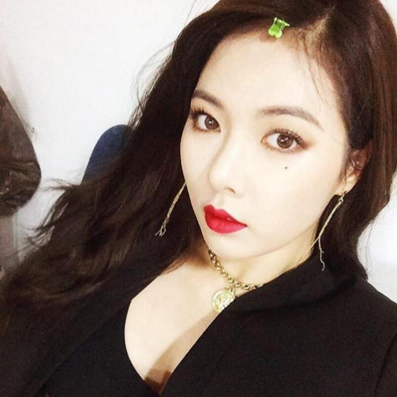 【蜗牛扑克】南智贤 韩国女子演唱组合4MINUTE队长美照(多图)分享