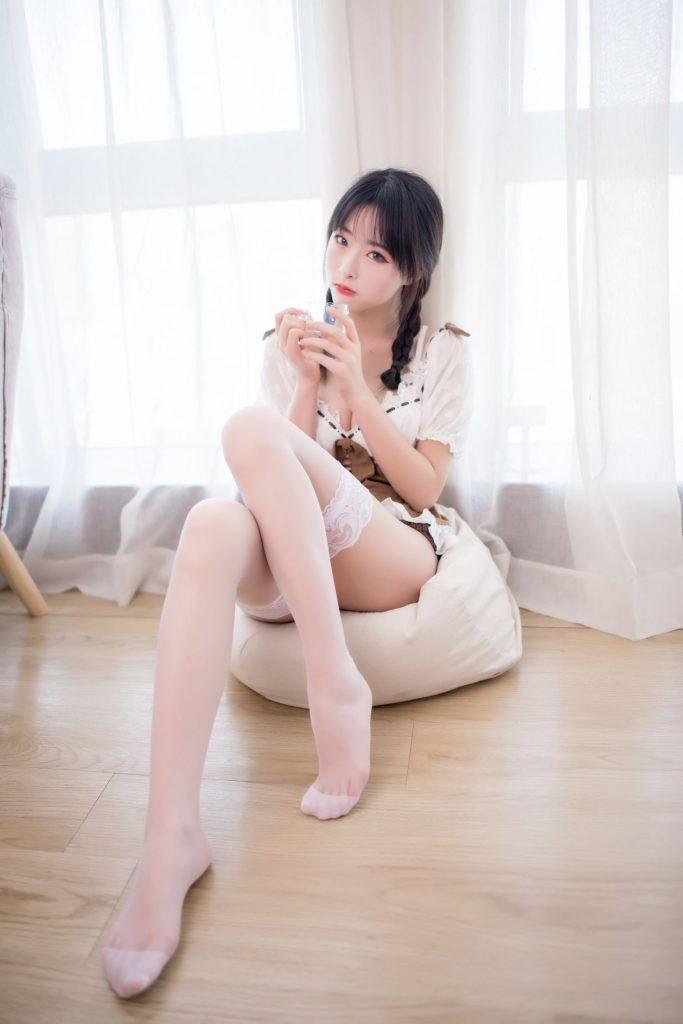 【蜗牛扑克】[喵糖映画] VOL.130 清水由乃 楚楚动人的女友