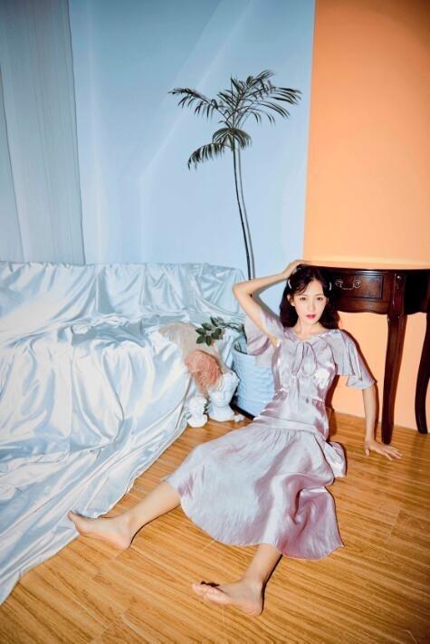 【蜗牛扑克】张墨锡 第五届国际微电影节最佳女主角美照分享及个人资料