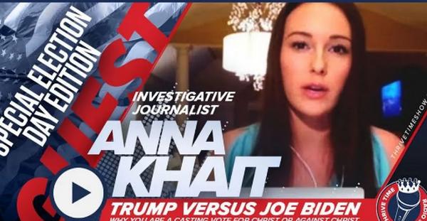 【蜗牛扑克】Anna Khait否认关于她与间谍活动有关的报道